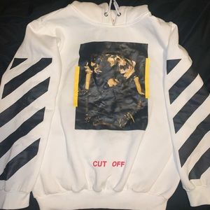 Off-White Hoodie (Men's Size: L)